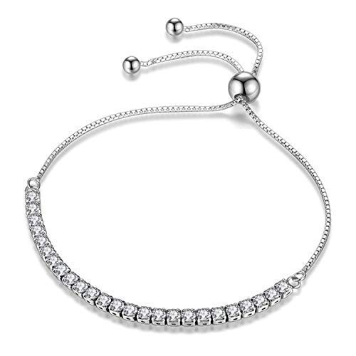 920a469b2d96 JDGEMSTONE Christmas Adjustable Bracelet Swarovski Crystals Jewellery for  Women Anniversary Birthday Girl Girlfriend Wife Daughter Mom