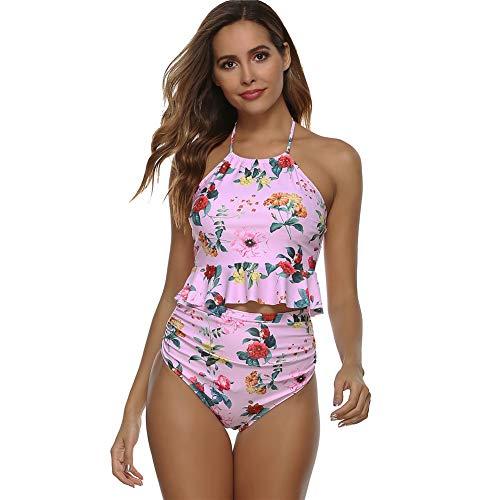 Exotisch stijlontwerp met bloemmotief, lotusbladontwerp is geschikt voor dameszwembadfeest, bikinishow, speciale avond,A,M