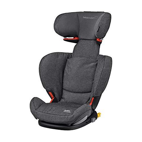 Bébé Confort RODIFIX AirProtect, Silla de auto para niño con ISOFIX, R44/04, reclinable, segura y ligera, desde los 3.5 hasta los 12 años, 15-36 kg, gr. 2/3, Sparkling Grey