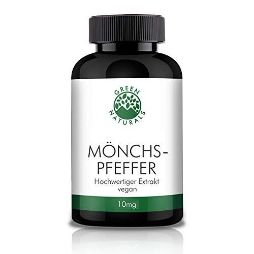 Mönchspfeffer - Vitex Agnus Castus - 180 Kapseln á 10mg aus Deutschland - 100% Vegan & Ohne Zusätze - Vorrat für 6 Monate. Gratis eBook