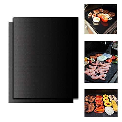 YouthLIKEWATER Barbecue Grill mat bakken anti-aanbak BBQ koken bakmatten afdekkingen blad folie BBQ liner gereedschap barbecue pad teflon vezel