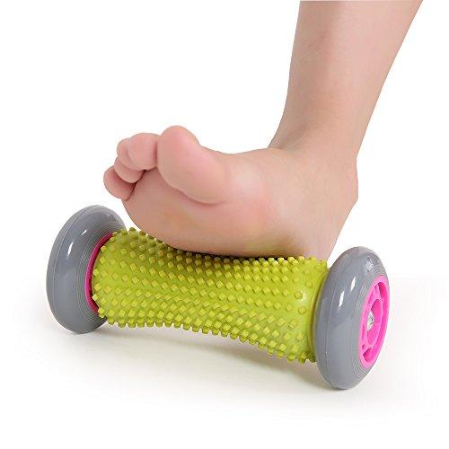 Pejoye Fußmassage, Akupressur Reflexzonenmassage fussmassage Handgelenke fußmassageroller Unterarme Übungsmassagerolle zur Regeneration der Plantarfasziitis und Verspannungen der Muskeln