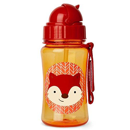 Skip Hop Zoo Trinkflasche für Kinder Trinklernflasche, Fuchs Ferguson, mehrfarbig