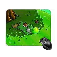 ヨッシー DANESI マウスパッド ゲーミング デスクマットデスククッショ ミニサイズ 四角型 防水 耐久性 清潔しやすい 滑り止めゴム底 オフィス/ゲーム用 おしゃれ 可愛い アニメ キャラクター