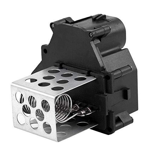 Resistencia del motor del ventilador, 1 pieza de aluminio y ABS, resistencia del ventilador del ventilador compatible con Citroen Berlingo C1 C4 Xsara Picasso 9649247680