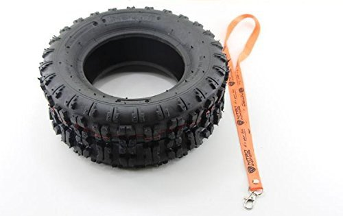 Nitro Motors Reifen für Quads/Rasentraktor 13x5.00-6 Tyre X Profil Pocket Dirt Bike Quad + Gratis Schlüsselanhänger Lanyard
