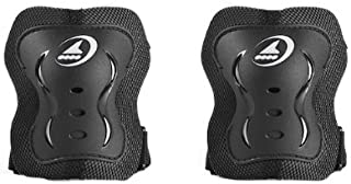 Rollerblade Bladegear XT Elbow Pad Protective Gear, Unisex, Multi Sport Protection, Black