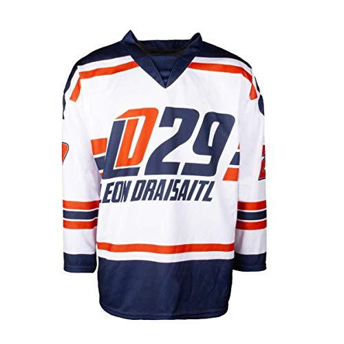 Scallywag® Eishockey Jersey Leon Draisaitl Trikot I Größen S - XXL I A BRAYCE® Collaboration (offizielle LD29 Kollektion vom NHL Edmonton Oilers Star) (XL)