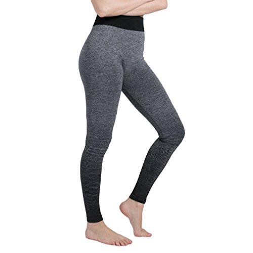 Pinke Frauen Sporthosen Strumpfhosen Fitness Yoga Leggings Laufleistung Stretch Plus Größe