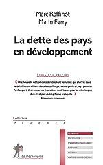 La dette des pays en développement de Marc RAFFINOT