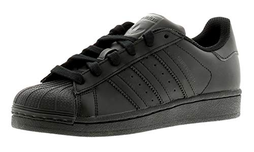 adidas Unisex-Kinder Superstar Foundation Sneaker, Schwarz (Core Black), 36 EU