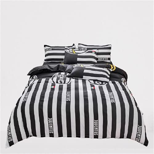 Ropa De Cama Textiles para El Hogar Funda Nórdica Estampada Funda De Almohada Juego De 4 Piezas Cómodo Y Transpirable 200x230cm