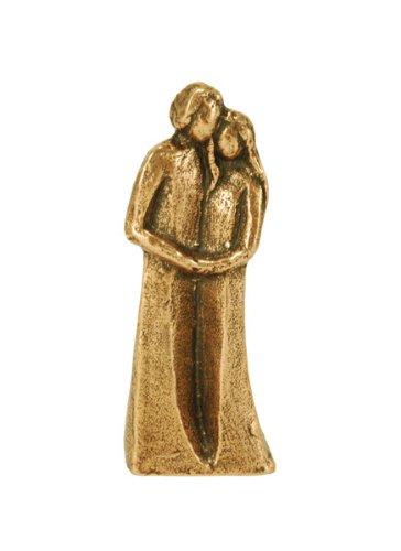 Liebevoll gestaltete Bronzefigur »Paar« - Gemeinsam unterwegs. Ideal als Geschenk zu einer Hochzeit oder einem ehelichem Jubiläum