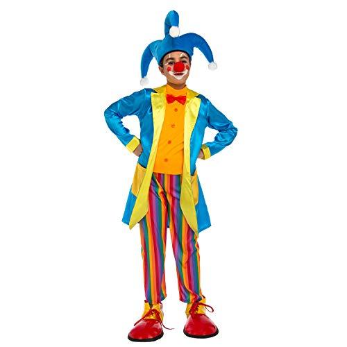 Desconocido My Other Me-204898 Disfraz de payaso con chaqueta para niño, 10-12 años (Viving Costumes 204898)