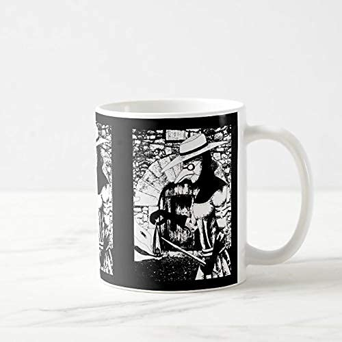 N\A Taza de café Divertida, 11 onzas, Taza del Doctor de la Peste, Taza de café, Taza de té o café, Taza de café novedosa