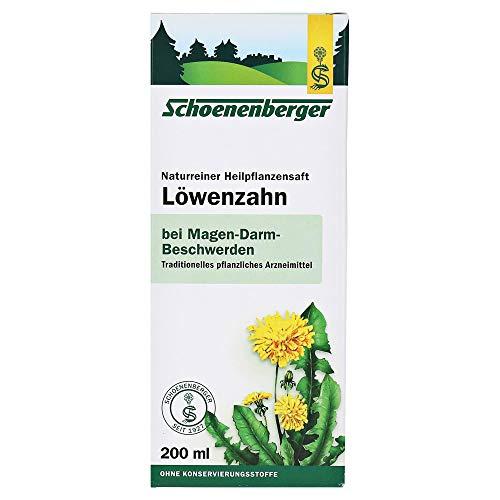 Schoenenberger Bio Naturreiner Heilpflanzensaft Löwenzahn (1 x 200 ml)