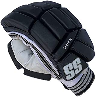 SS Cricket Platino Limited Edition Batting Gloves' Men's, Right Handed (Colors : Blue, Red, Black, White)