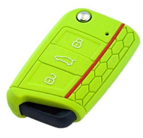 * Leon 5F SEAT · Apfel-Grün · Key Cover · Schlüsselhülle Leon 5F SC ST · Schlüssel Hülle ETUI Klappschlüssel