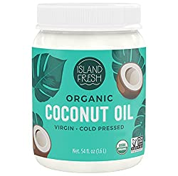 Buy Island Fresh Superior Organic Virgin Coconut Oil via Amazon