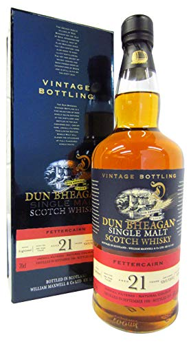 Fettercairn - Dun Bheagan Single Malt - 1996 21 year old Whisky
