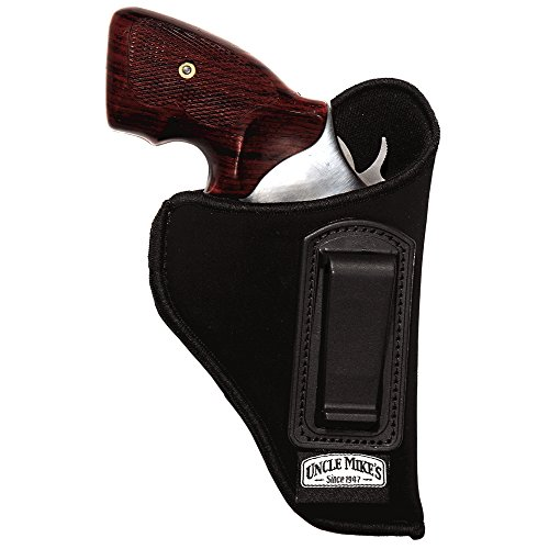 Uncle Mike's Off-Duty and Concealment Nylon OT ITP Holster (Black, Size 12, Right Hand)