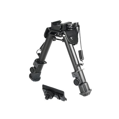 "UTG Tactical OP Bipod, QD Lever Mount, Height 5.9""-7.3"""