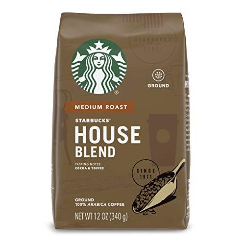 Starbucks Mittlere Hausmischung gemahlener Kaffee 12 Unzen