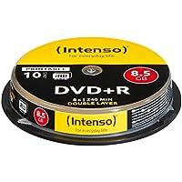 Intenso DVD + R 8.5GB DL Print.10 Cake Box Double - Paquete de 10