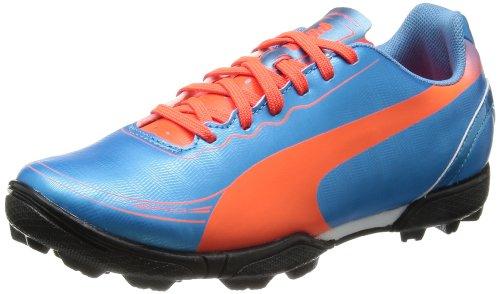 Puma Evospeed 5.2 TT Jr, Botas de fútbol Unisex Adulto, Azul (Blau (Sharks Blue-Fluro Peach-Fluro Yellow 04), 37 EU