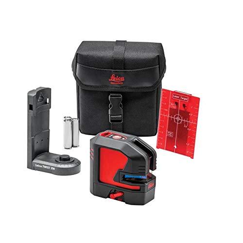 Leica Geossystems Leica Lino L2 - compacte kruislijnlaser met innovatieve magnetische adapter, zwart, rood