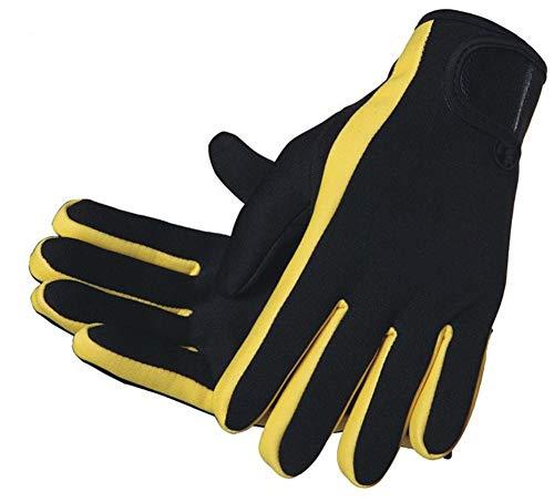 Guantes de neopreno antideslizantes de 1,5 mm, guantes de buceo térmicos, guantes de buceo, buceo, kayak, vela, paddle surf, natación, deportes acuáticos