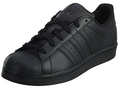 adidas Originals Superstar, Basket Fille, Noir, 39 2/3 EU