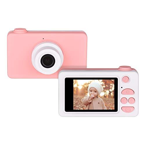 """Funkprofi Kidizoom Appareil photo numérique pour enfant Full HD 1080P 8 mégapixels écran HD 2"""" Rose"""