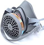 Respirator M Ask Double Air Filter 360° Full Seal Protection Perfect for Eye Protection