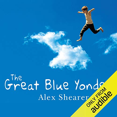 The Great Blue Yonder audiobook cover art