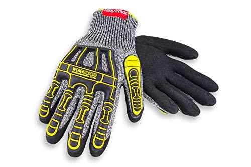 Weber Rescue TH-Handschuhe Extrication 2090W (4X44EP nach EN 388) für Feuerwehr und Rettungsdienst (10/XL)