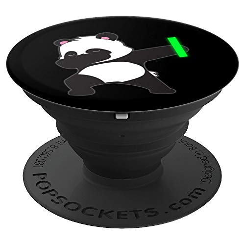 Dabbing Panda Bear Rave Dance Party Music Gift - PopSockets Ausziehbarer Sockel & Griff für Smartphones & Tablets