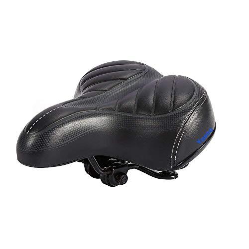 Bike Saddles Outdoor Cycling Mountain MTB Road Bike Wide Big Bum Bicycle Cushion Pad Gel Cruiser Comfort Sporty Soft Pad Saddle