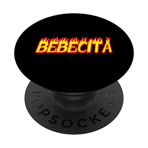 Dembow Bebecita PopSockets PopGrip: Agarre intercambiable para Teléfonos y Tabletas