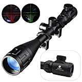 Best SNIPER Rifle Scopes - Beileshi 6-24X50mm AOEG Optics Hunting Rifle Scope Red/Green Review