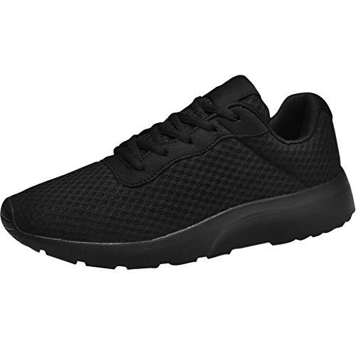 Sneaker Turnschuhe für Herren, Frashing Sportschuhe Outdoor Schuhe Herren Sportschuhe mit Schnürsenkel Tennisschuhe Casual Freizeitschuhe Sportliche Laufschuhe Joggen Wandern EU39-46