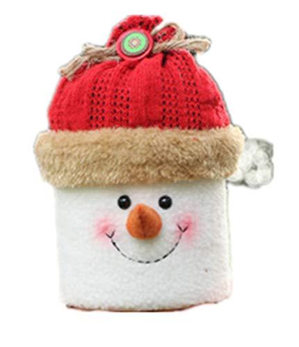 クリスマスの装飾品、立体的なお菓子の缶、子供のプレゼントの袋、リンゴの箱、クリスマスの家庭パーティー、精致なキャンディーのコンテナ、キャンディの容器、かわいいお菓子の箱。(デザインB)【ysy】
