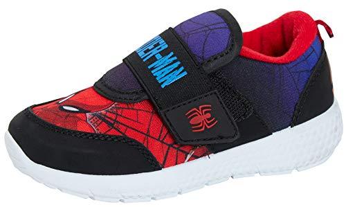 Marvel Spiderman - Zapatillas deportivas ligeras, color Rojo, talla 25 EU