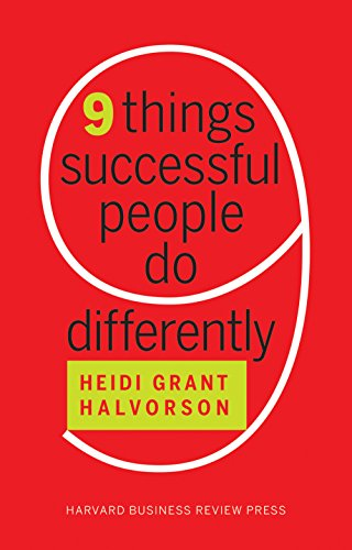 Nine Things Successful People Do Differently (English Edition)