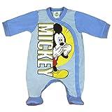 Mickey Mouse Disney Baby-Strampler Baby-Schlafanzug für Jungen Wickel-Strampler in Größe 56 62 68 74 Baumwolle für Neugeborene 0 3 6 9 Monate Farbe Modell 3, Größe 68