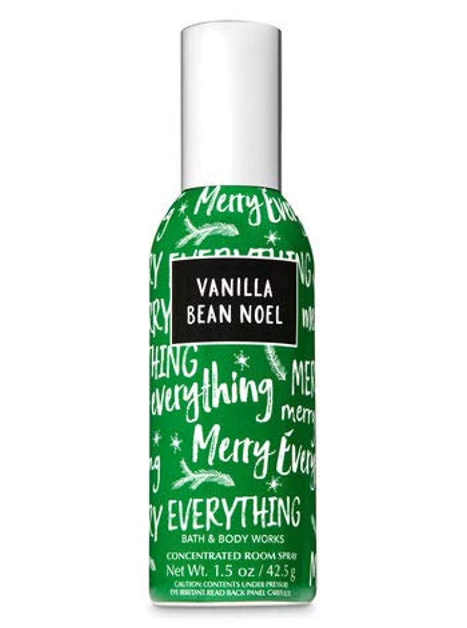 知性汚れた怪しい【Bath&Body Works/バス&ボディワークス】 ルームスプレー バニラビーンノエル 1.5 oz. Concentrated Room Spray/Room Perfume Vanilla Bean Noel [並行輸入品]