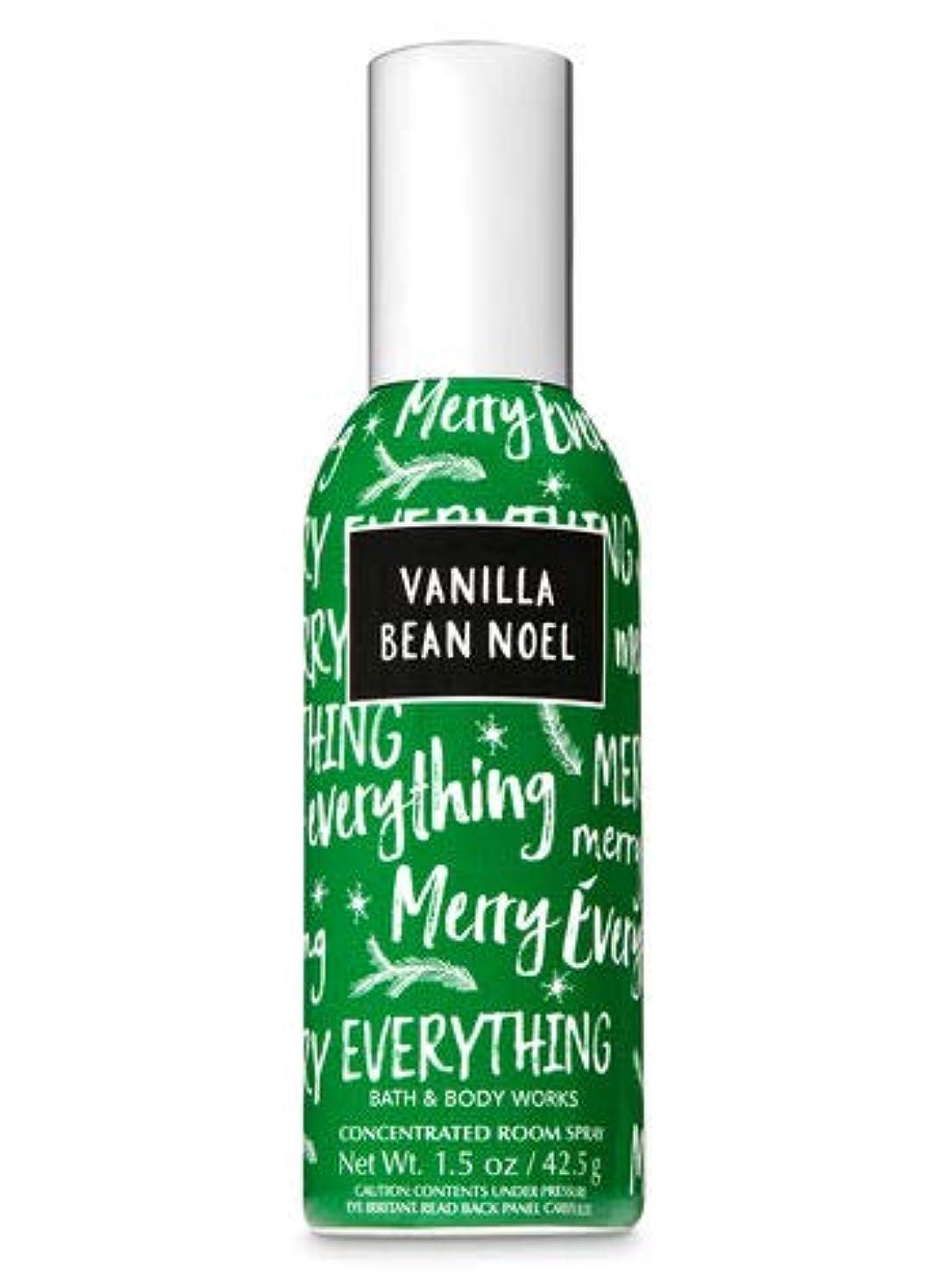 地平線受動的安価な【Bath&Body Works/バス&ボディワークス】 ルームスプレー バニラビーンノエル 1.5 oz. Concentrated Room Spray/Room Perfume Vanilla Bean Noel [並行輸入品]