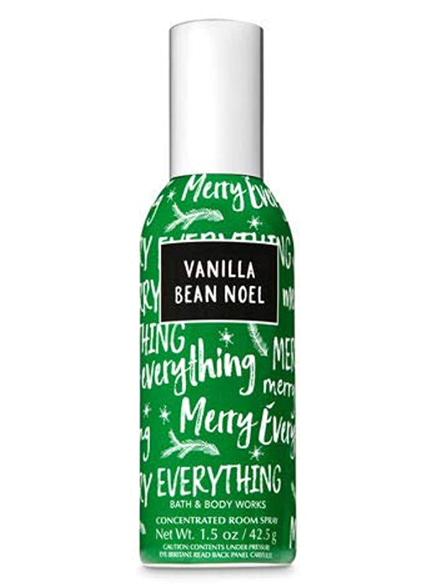 短命有名職業【Bath&Body Works/バス&ボディワークス】 ルームスプレー バニラビーンノエル 1.5 oz. Concentrated Room Spray/Room Perfume Vanilla Bean Noel [並行輸入品]