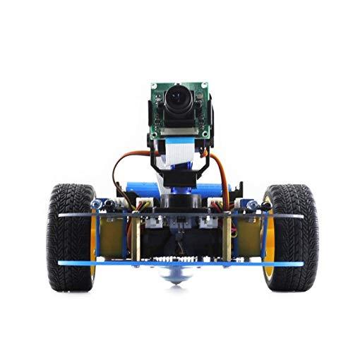 Waveshare NVIDIA JetBot AI Kit Smart Robot V2 LLD AlphaBot (for Europe), Raspberry Pi Robot Building Kit (no Pi) YELLOL mobile robot development platform, intellig