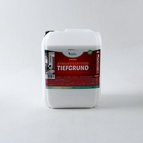 10 Liter Ecobo Tiefgrund Atmungsaktiv, Acryl-Tiefengrund innen und außen